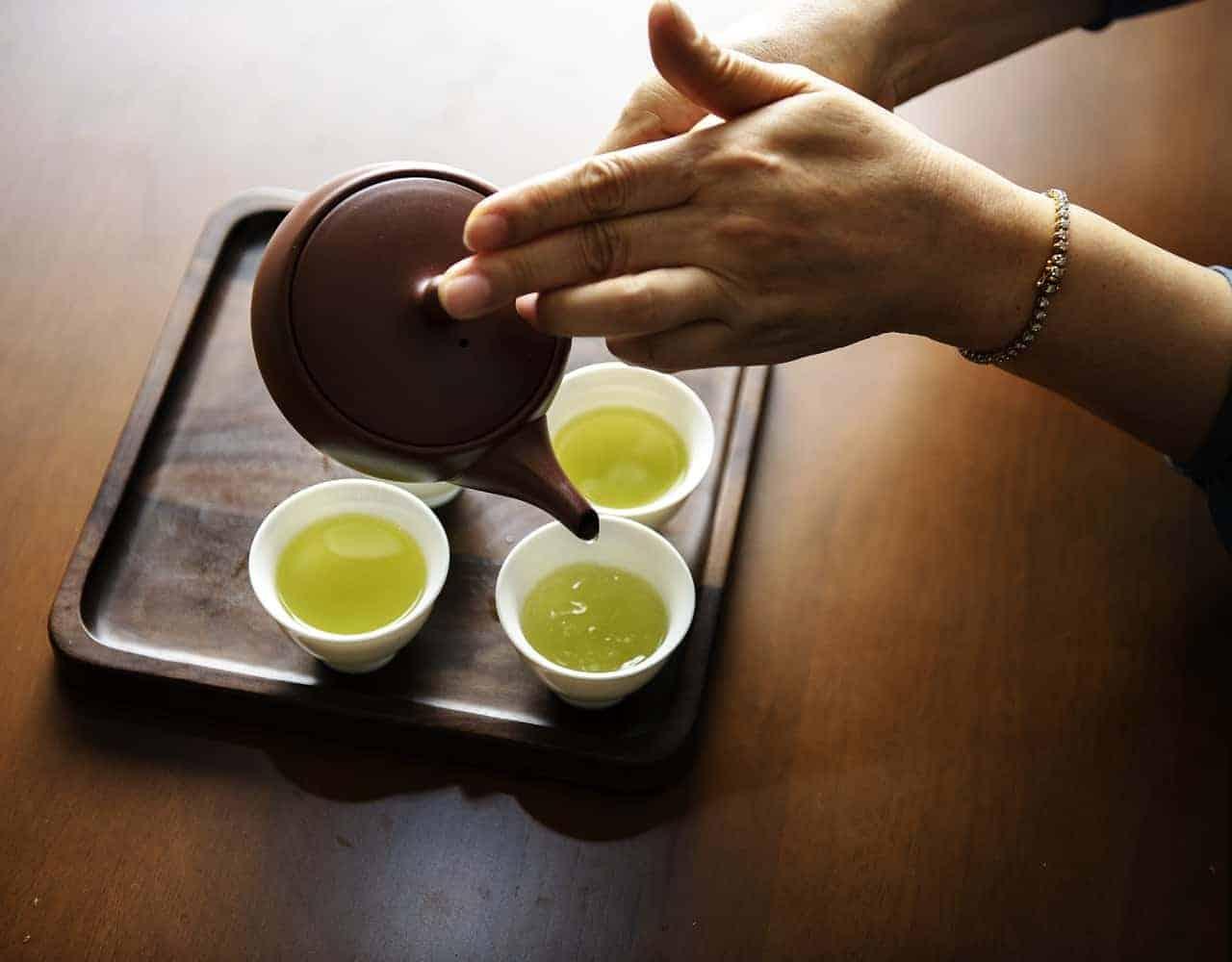 الشاي الأخضر - orchidfulifestyle