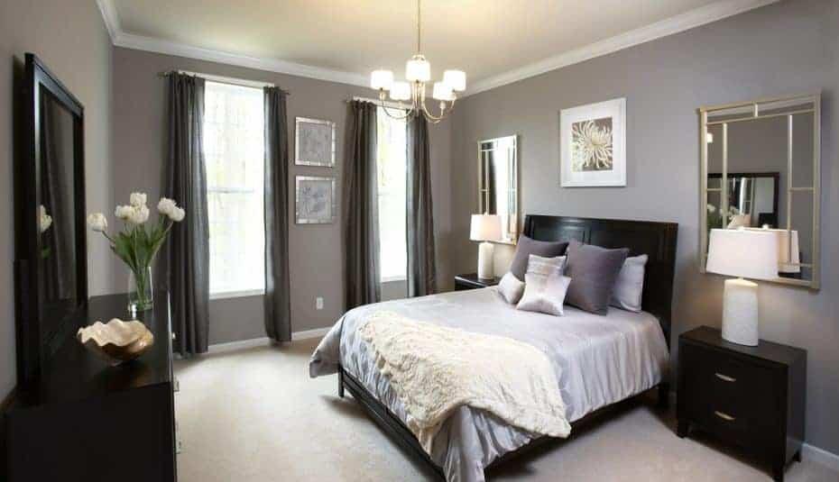 تزيين غرف نوم معتمة - Orchidfulifestyle