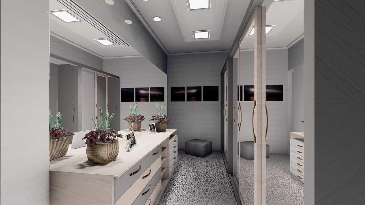 غرف خزائن الملابس - orchidfulifestyle