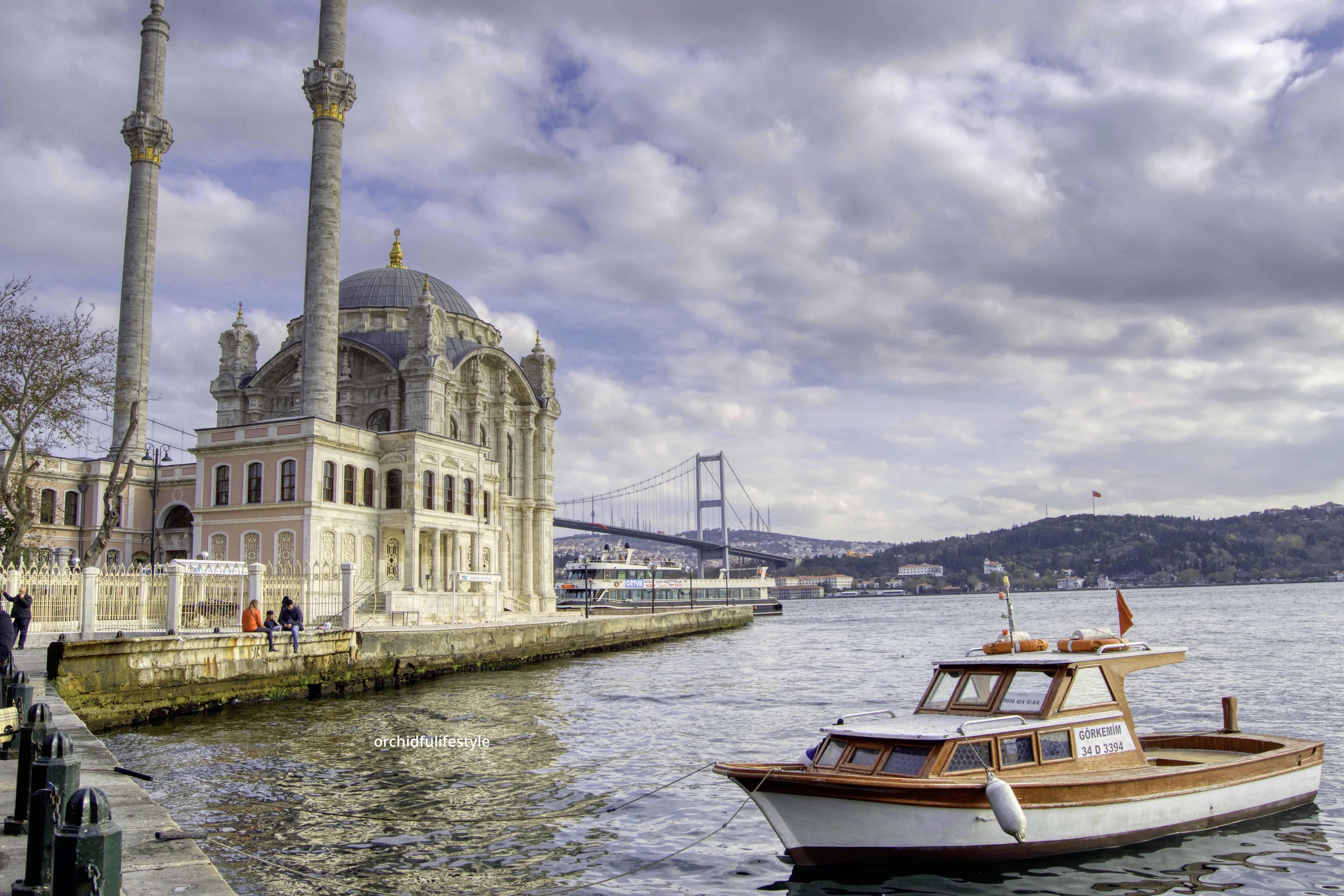 اسطنبول مسجد أورتاكوي - Orchidfulifestyle