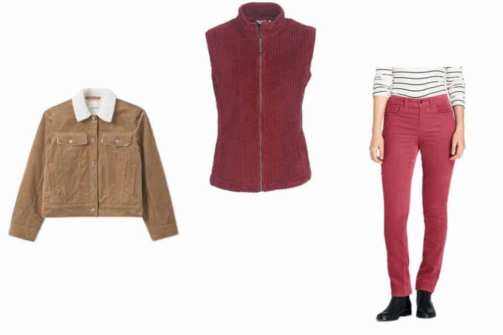 اختيارات كوردوروي - ملابس فصل الخريف - orchidfulifestyle